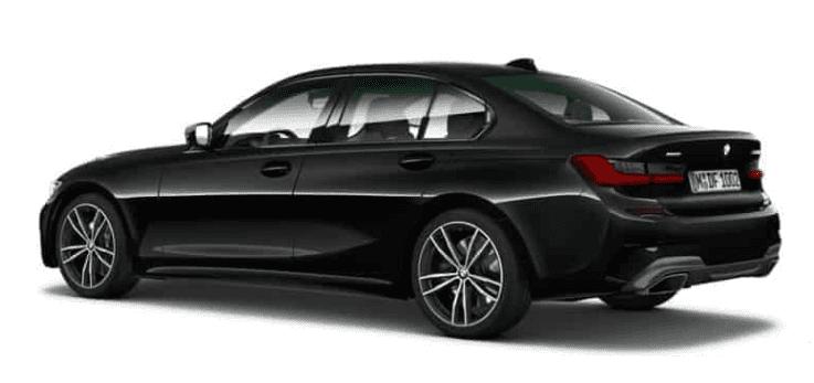 BMW 3 Serie in het zwart