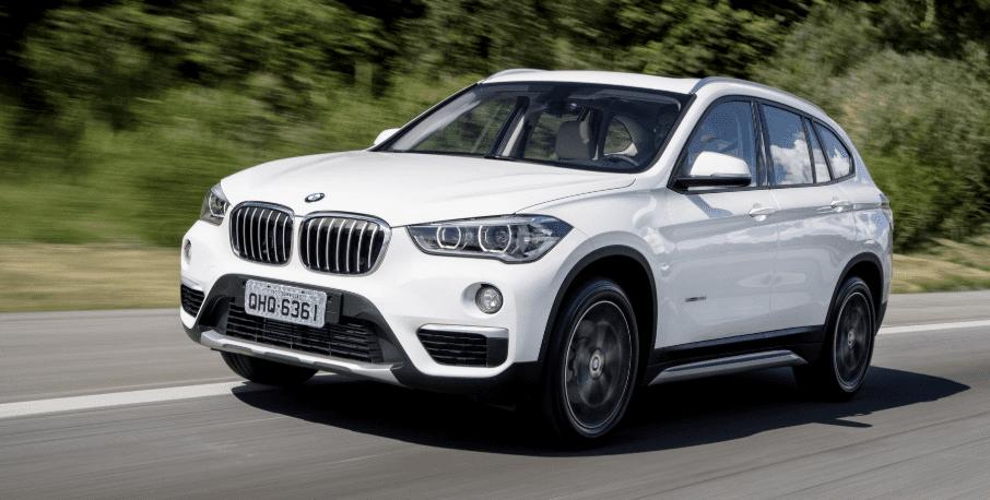 BMW X1 in de witte uitvoering