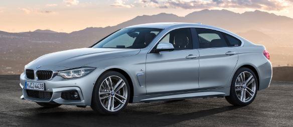 BMW- 4 serie voorkant