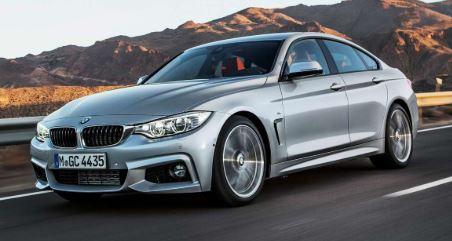 BMW- 4 serie voorzijde
