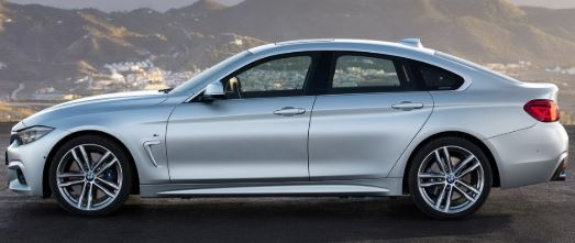 BMW- 4 Serie Zijkant