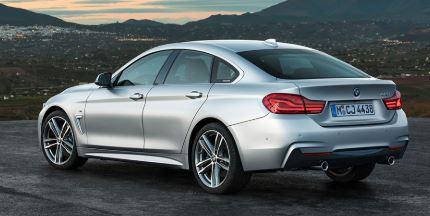 BMW- 4 Serie Achterzijde