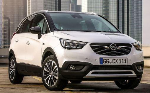Opel Crossland X Voorkant