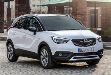 Opel Crossland Voorzijde