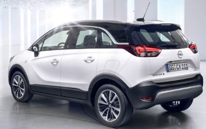 Opel Crossland X Achterzijde