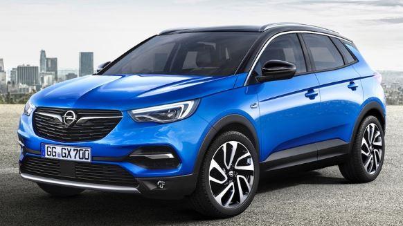 Opel Grandland Voorzijde