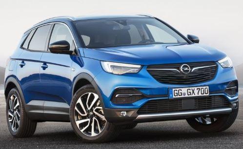 Opel Grandland Voorkant