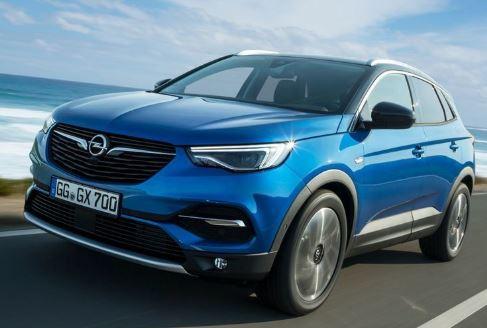 Opel Grandland Zijkant