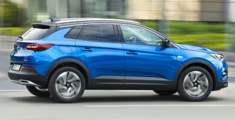 Opel Grandland Blauw