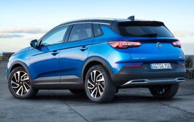 Opel Grandland Achterkant