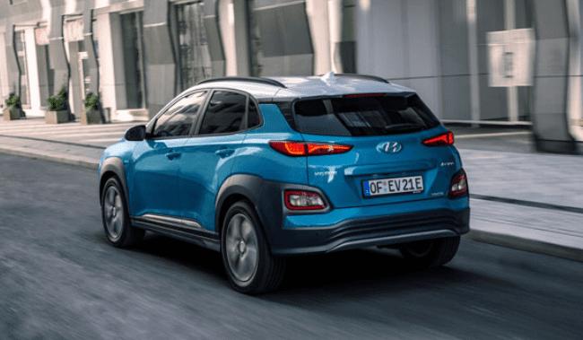 Hyundai Kona Electric op de weg