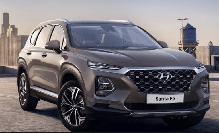 Hyundai Sante Fe Grijs uitvoering
