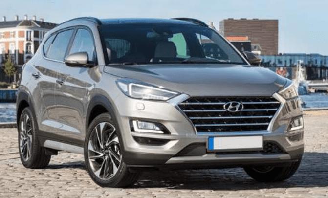 Hyundai Tucson grijs