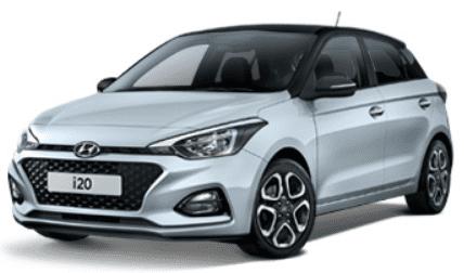 Hyundai i20 wit