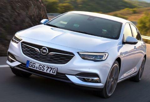 Opel Insignia Voorkant