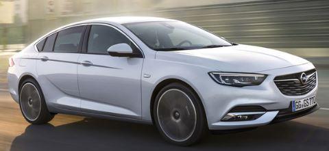 Opel Insignia Voorzijde