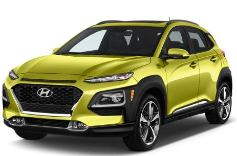 Hyundai Kona Voorkant