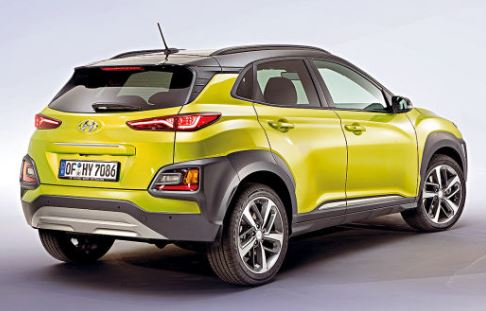 Hyundai Kona Achterzijde