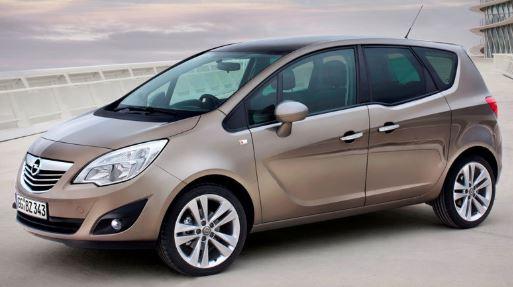 Opel Meriva Zijkant