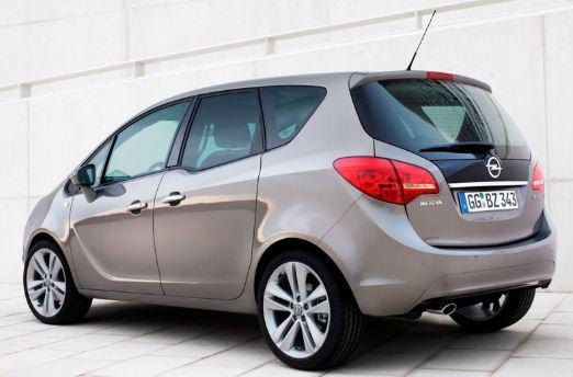 Opel Meriva Achterkant