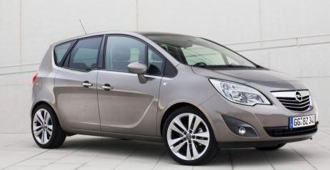 Opel Meriva Voorzijde