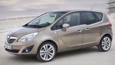 Opel Meriva Bruin