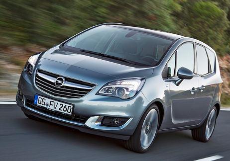 Opel Meriva Rijdend