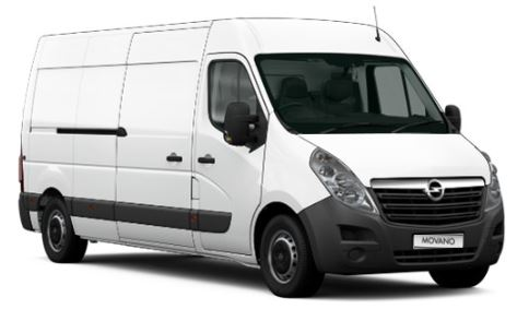 Opel Movano Wit