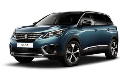 Peugeot 5008 Vooraanzicht