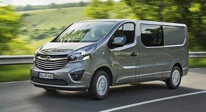 Opel Vivaro Voorzijde