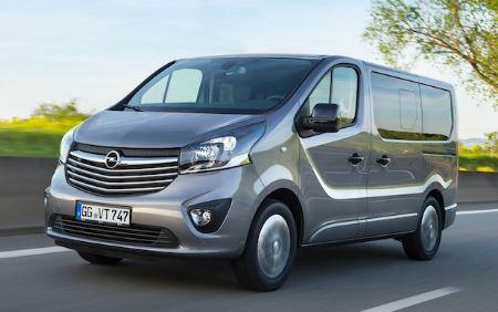 Opel Vivaro Voorkant