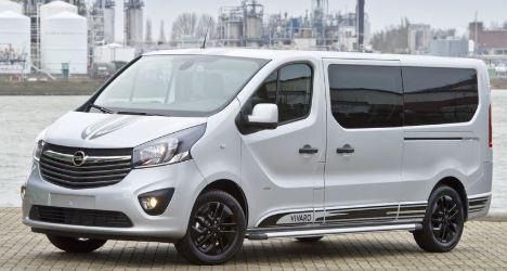 Opel Vivaro Wit