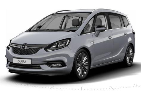 Opel Zafira Grijs