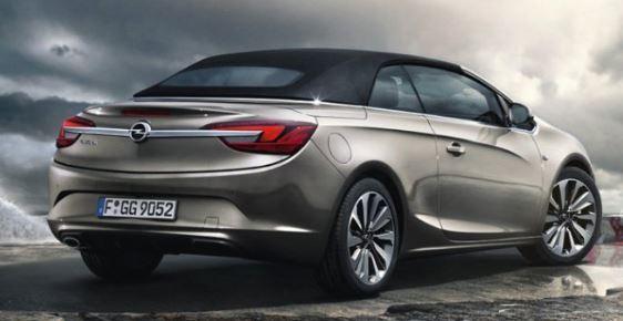 Opel Cascada Achterzijde