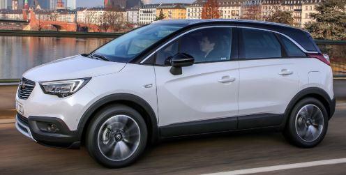 Opel Crossland X Zijkant