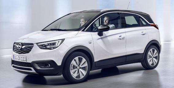 Opel Crossland Wit