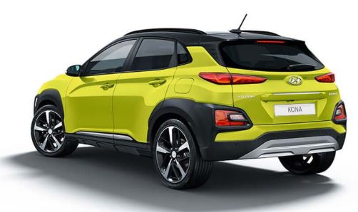 Hyundai Kona Achterkant