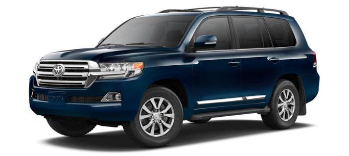 Toyota Land Cruiser Blauw