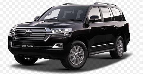 Toyota Land Cruiser Zwart