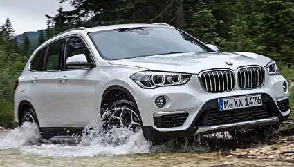 BMW X1 Voortkant