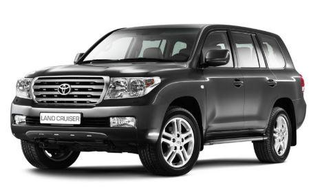 Toyota Land Cruiser Voorkant