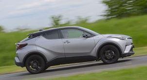 Toyota C-HR Zijkant