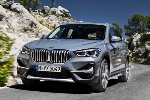 BMW X1 Voorzijde