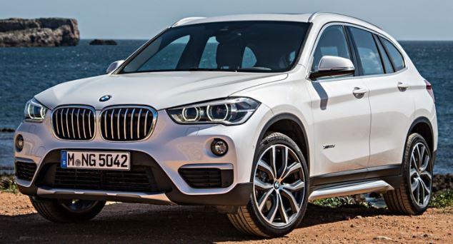 BMW X1 Zijkant
