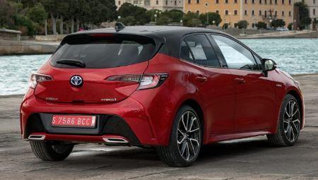 Toyota Corolla Achterkant