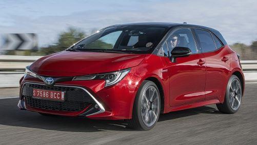 Toyota Corolla Voorkant