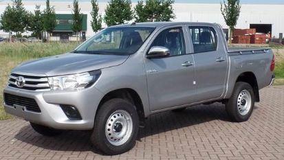 Toyota Hilux Voorzijde