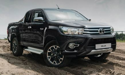 Toyota Hilux Voorkant