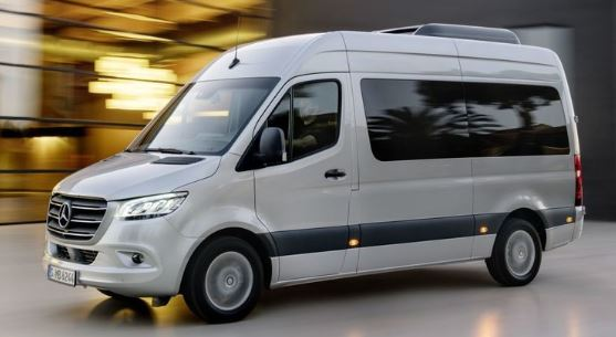 Mercedes Benz Sprinter Zijkant