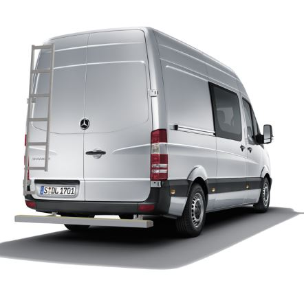 Mercedes Benz Sprinter Achterkant